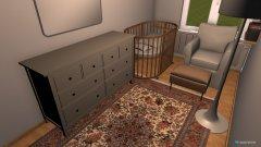 Raumgestaltung baby room in der Kategorie Kinderzimmer
