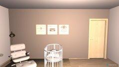 Raumgestaltung Babyzimmer Diana in der Kategorie Kinderzimmer