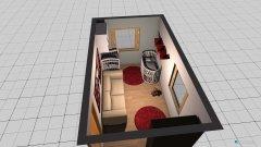 Raumgestaltung Babyzimmer kleines Zimmer in der Kategorie Kinderzimmer