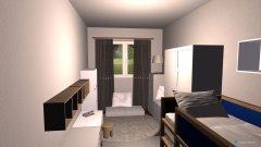 Raumgestaltung Babyzimmer Variante 2 in der Kategorie Kinderzimmer