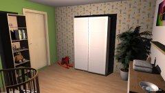 Raumgestaltung babyzimmer in der Kategorie Kinderzimmer