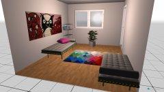 Raumgestaltung BETTen neben WAND in der Kategorie Kinderzimmer