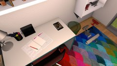 Raumgestaltung Bjarnes Zimmer in der Kategorie Kinderzimmer