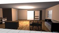Raumgestaltung ChristineKinderzimmer in der Kategorie Kinderzimmer