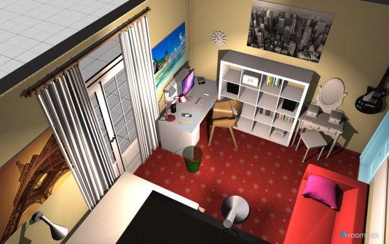 Raumgestaltung Claras Zimmer 2 in der Kategorie Kinderzimmer