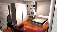 Raumgestaltung Claras Zimmer 3 in der Kategorie Kinderzimmer