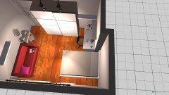 Raumgestaltung Claras Zimmer 4 in der Kategorie Kinderzimmer