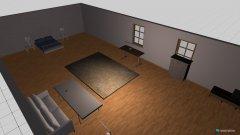 Raumgestaltung Clarissas neues Zimmer in der Kategorie Kinderzimmer