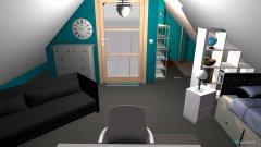 Raumgestaltung Dachboden Kinderzimmer in der Kategorie Kinderzimmer