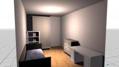 Raumgestaltung Dennys neues Zimmer in der Kategorie Kinderzimmer