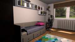 Raumgestaltung Detská 1 in der Kategorie Kinderzimmer