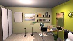 Raumgestaltung Eckraum - Thema Grün Holz Natur in der Kategorie Kinderzimmer