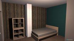Raumgestaltung Ellis Zimmer in der Kategorie Kinderzimmer