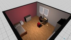 Raumgestaltung Emmas Zimmer in der Kategorie Kinderzimmer