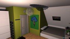 Raumgestaltung ennas zimmer in der Kategorie Kinderzimmer