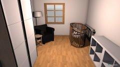 Raumgestaltung Eumelzimmer in der Kategorie Kinderzimmer
