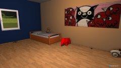 Raumgestaltung Finn Zimmer in der Kategorie Kinderzimmer