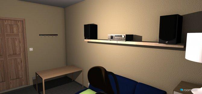 Raumgestaltung florian 02 in der Kategorie Kinderzimmer