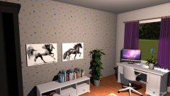 Raumgestaltung Fridas Zimmer in der Kategorie Kinderzimmer