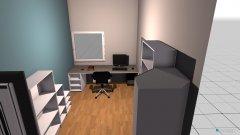 Raumgestaltung Futureroom V.1 in der Kategorie Kinderzimmer