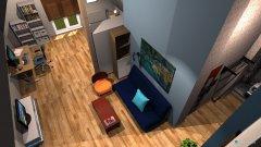 Raumgestaltung Garagenboden mit Flurraum in der Kategorie Kinderzimmer