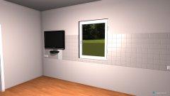 Raumgestaltung Grundrissvorlage Küche in der Kategorie Kinderzimmer
