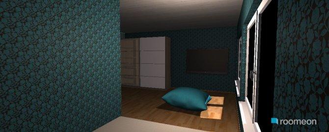 Raumgestaltung Grundrissvorlage L-Form in der Kategorie Kinderzimmer