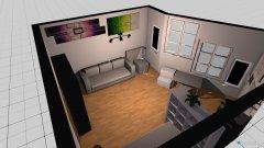Raumgestaltung grunriss sarahs zimmer in der Kategorie Kinderzimmer