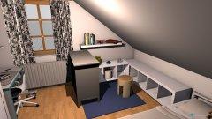 Raumgestaltung Hanna-Lenas neues Zimmer in der Kategorie Kinderzimmer