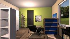 Raumgestaltung hannah2 in der Kategorie Kinderzimmer