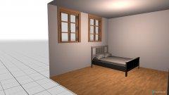 Raumgestaltung hannas Zimmer in der Kategorie Kinderzimmer