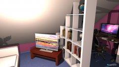 Raumgestaltung Heikes Zimmer (Traum) in der Kategorie Kinderzimmer