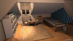 Raumgestaltung Ian Kinderzimmer in der Kategorie Kinderzimmer