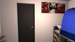 Raumgestaltung Jamies zimmer  in der Kategorie Kinderzimmer