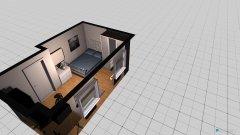 Raumgestaltung Johanna Zimmer Bett in der Ecke in der Kategorie Kinderzimmer