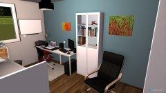 Raumgestaltung Jugendzimmer mit Gaming in der Kategorie Kinderzimmer