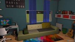 Raumgestaltung jugendzimmer of DOOM in der Kategorie Kinderzimmer