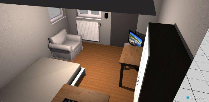 Raumgestaltung Jugendzimmer in der Kategorie Kinderzimmer