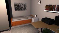 Raumgestaltung Keller Zimmer in der Kategorie Kinderzimmer