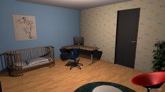 Raumgestaltung Kevin Ilaria Kinderzimmer in der Kategorie Kinderzimmer