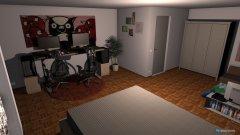 Raumgestaltung Kikis Zimmer in der Kategorie Kinderzimmer