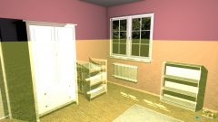 Raumgestaltung Kimi Zimmer in der Kategorie Kinderzimmer