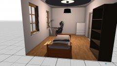 Raumgestaltung KINDER SCHLAF ZIMMER in der Kategorie Kinderzimmer