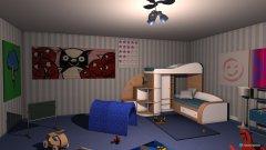 Raumgestaltung Kindertraum in der Kategorie Kinderzimmer