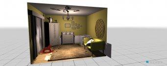 Raumgestaltung kinderzimma in der Kategorie Kinderzimmer