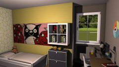 Raumgestaltung Kinderzimmer 1 Flair 125 in der Kategorie Kinderzimmer