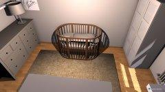 Raumgestaltung Kinderzimmer  Büro in der Kategorie Kinderzimmer