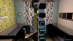 Raumgestaltung Kinderzimmer für Anita und Tina in der Kategorie Kinderzimmer