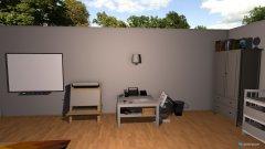 Raumgestaltung Kinderzimmer in beige; braun; weiß in der Kategorie Kinderzimmer