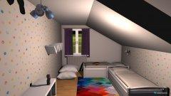 Raumgestaltung Kinderzimmer oben in der Kategorie Kinderzimmer